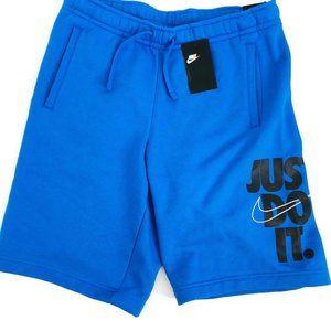 NWT Nike Sportswear Just Do It Fleece Shorts MED